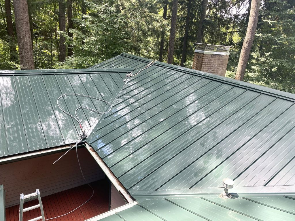 Roof Cleanup Example - After